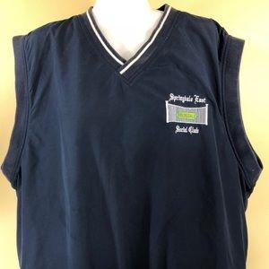 Crest Signature Golf Pullover Windbreaker Vest